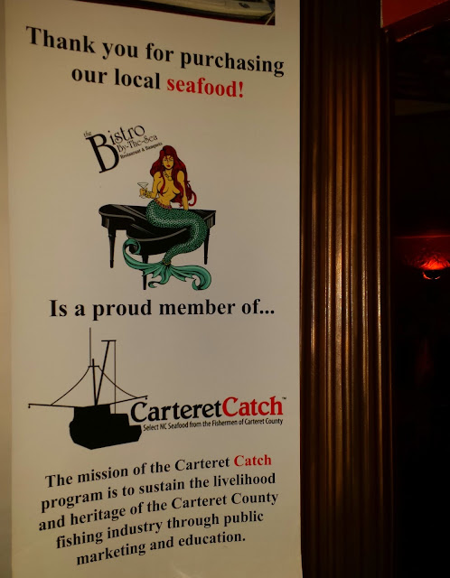 Crystal Coast NC Dining Guide, Carteret Catch program to support fishermen.