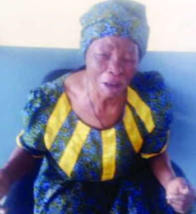 85-year-old widow abandoned children
