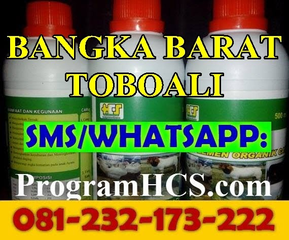 Jual SOC HCS Bangka Barat Toboali