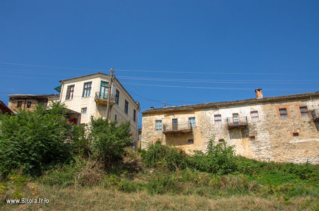 Architecture - Bukovo village near Bitola, Macedonia