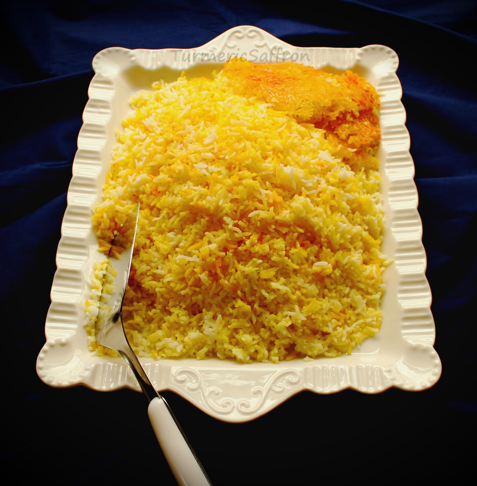 Iranian-Style Saffron Rice