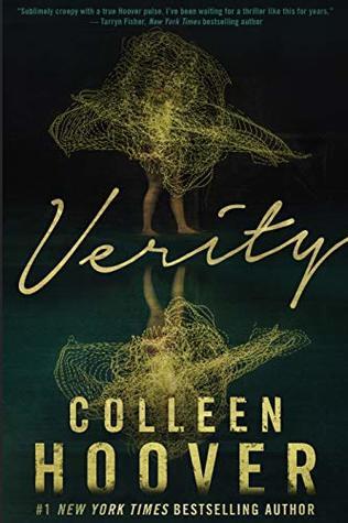 Copertina del libro Verity di Colleen Hoover