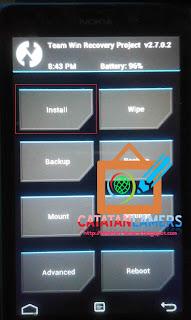 Tutorial Install Google Apps (GAPPS) pada Nokia XL RM-1030