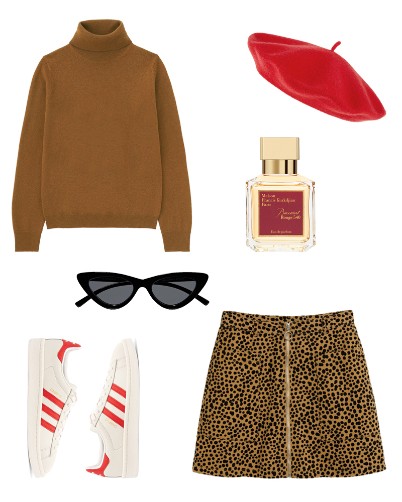 parisian style, autumn outfit, fall winter, camel, red, the last lolita,