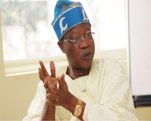 Another Looters' List will Be  Released Soon, Says Lai Mohammed (See What He Said)