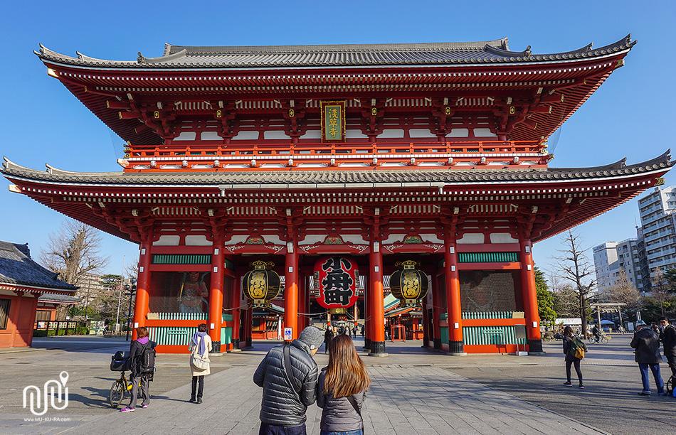 เที่ยวโตเกียว 1 วัน : วัดอาซากุสะ (ASAKUSA TEMPLE)