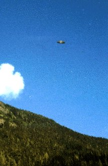 Original image of the Hannah McRoberts UFO Sighting.