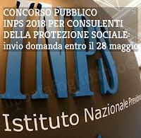 concorso pubblico inps 2018