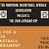 THIS WEEKEND: Manitoba Basketball African Association to Host 2019 African Cup on May 18-19 in Winnipeg