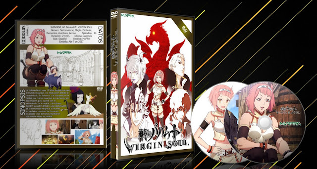 Shingeki no Bahamut: Virgin Soul   Cover DVD   MEGA  