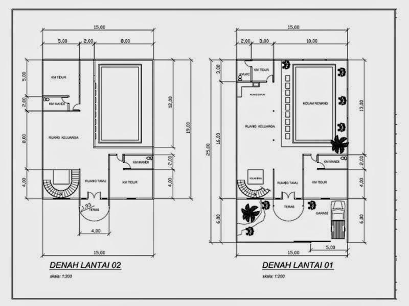 Image Result For Desain Rumah Mewah Dengan Kolam Renang