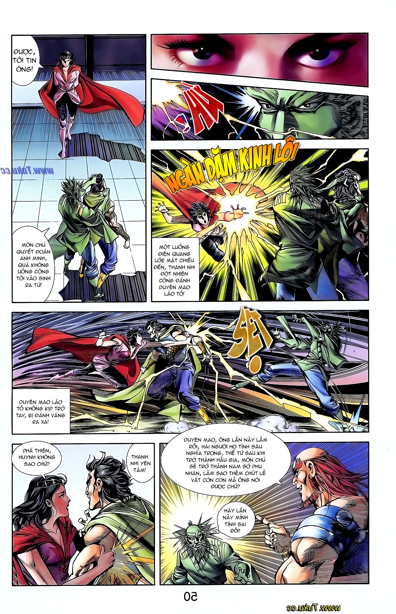 Cơ Phát Khai Chu Bản chapter 127 trang 9