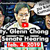 Must Watch: Atty. Glenn Chong Presenting Evidence at Senate Hearing on Political Killings (Video)