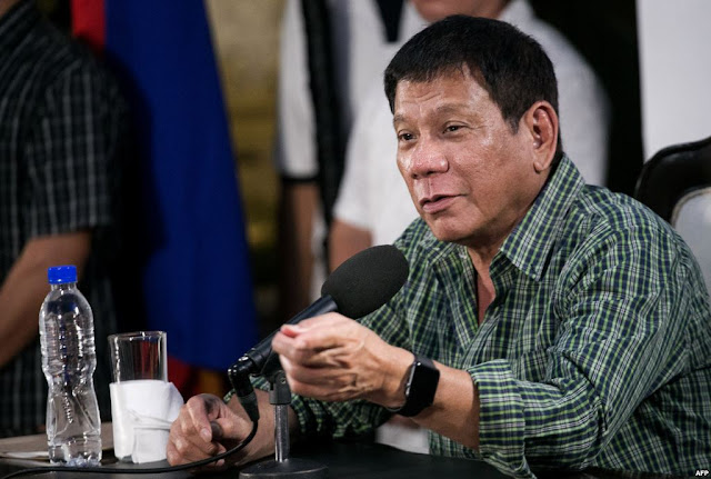 Pres. Duterte confirms someone in his family used drugs