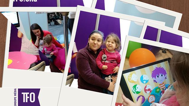 Salon de la Maternité Paternité Enfants: Un arrêt à rester longtemps Le Kiosque du Groupe Médias TFO #Boukili #Idello