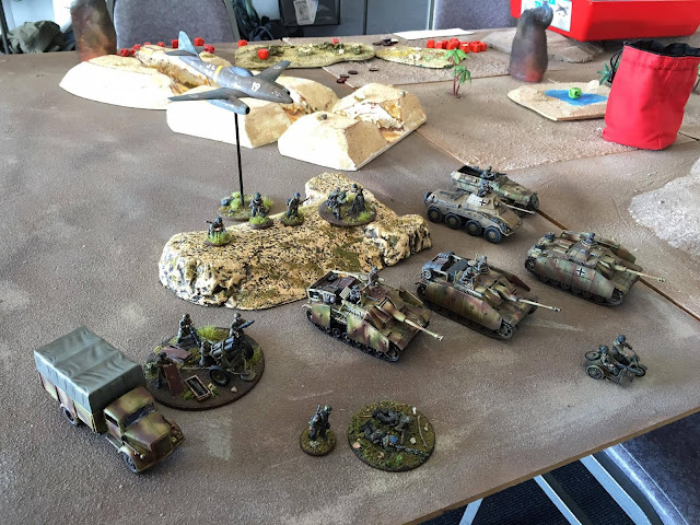 Bolt Action German Armoured Platoon 1500 Points