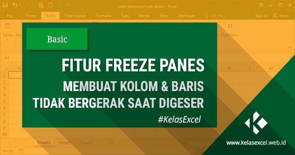 Cara Freeze di Excel Lengkap