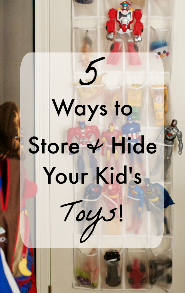 5 ways to store and organize kid toys