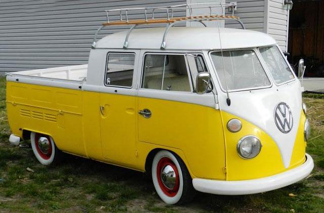 1967 double cab vw bus. Black Bedroom Furniture Sets. Home Design Ideas