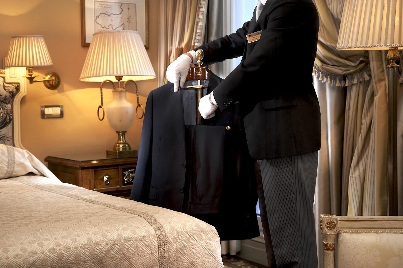 Celebrity european butler service