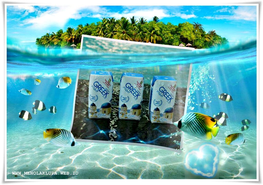 Heavenly Blush Greek Yogurt minuman sehat kaya manfaat bagi tubuh