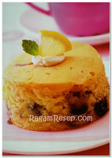 Resep Roti Blueberry Cake Lemon