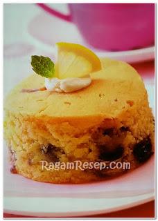 Resep Roti Blueberry Cake Lemon