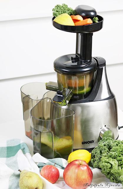 test wyciskarki wolnoobrotowej, zdrowe soki, najlepsza wyciskarka do soków, jak zrobić domowy sok, daylicooking