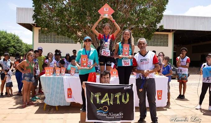 Wevellyn e Samuel de Itaitu são campeões da 1ª Corrida do MARCO em Ourolândia