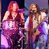 Os vários instrumentos que Steven Tyler toca nos discos do Aerosmith