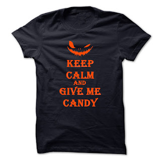pumpkin halloween Keep calm and Give me candy