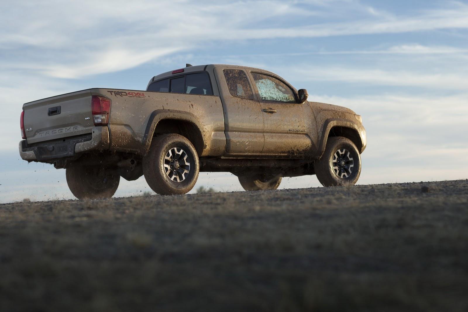 Toyota Details New 2016 Tacoma Pickup Truck 75 Pics