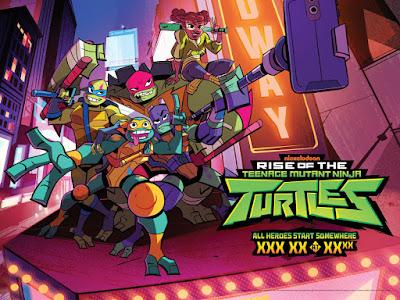 9db8b869fc7 The Teenage Mutant Ninja Turtles return in Rise of the Teenage Mutant Ninja  Turtles, Nickelodeon's brand-new 2D-animated series which reimagines the ...