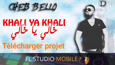 Projet Rai Fl Studio Mobile cheb bello_ khali ya khali by Amine Pitchou