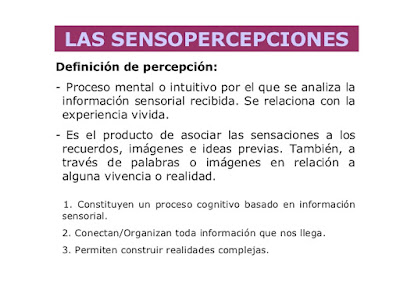 Sensopercepciones