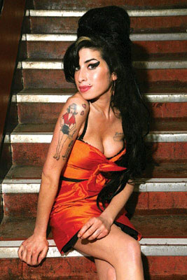 Foto de Amy Winehouse más delgada