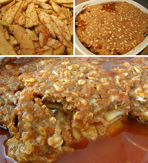 Pecan Apple Crisp @LDBlakeley
