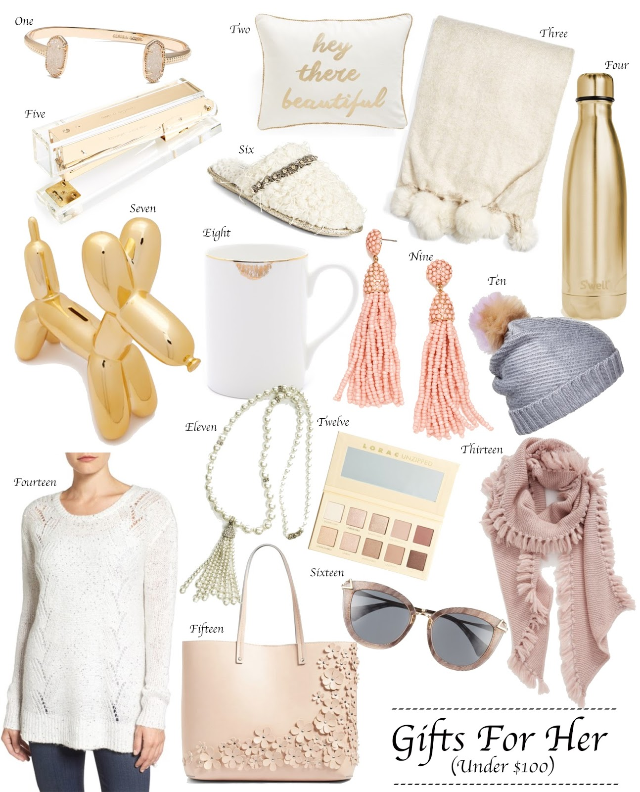 Gifts For Her (Under $100) - Something Delightful Blog