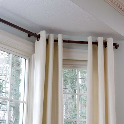 Finding the Right Curtain Rods for Bay Windows