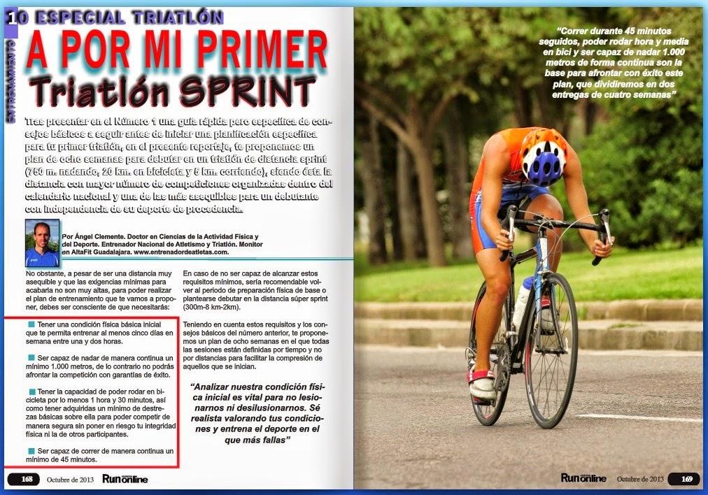 Entrenamiento triatlon super sprint pdf