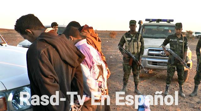 Resultado de imagen de traficantes de drogas en el sahara