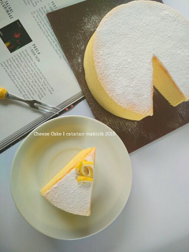 Cheddar cheese cake