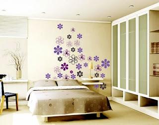 Kumpulan Desain Contoh Gambar Wallpaper Dinding Rumah Minimalis untuk Kamar Tidur