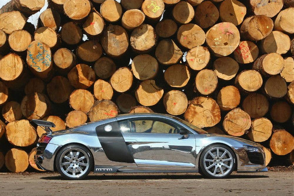 Siêu xe Audi R8 bóng nhoáng này được độ bởi hãng MTM