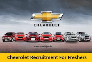 Chevrolet Recruitment