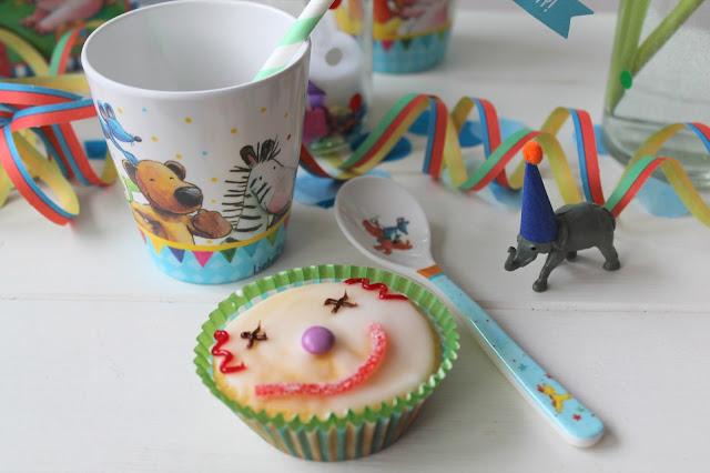 Clown Muffins Zirkus Kindergeburtstag Motto Party