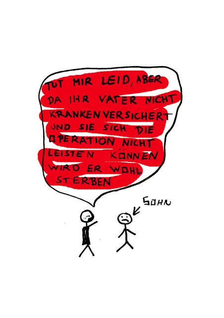 Dr. Kristian Stuhl 2012, nicht krankenversichert,  Das Klo spült alles fort, A4