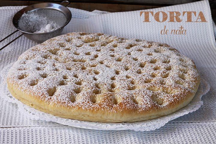 Torta De Nata El Jardín De Mis Recetas
