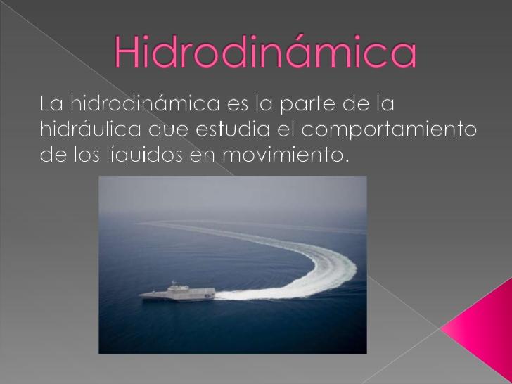 CONCEPTO DE HIDRODINAMICA PDF