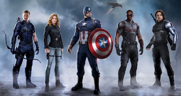 Equipo del Capi en Captain America: Civil War